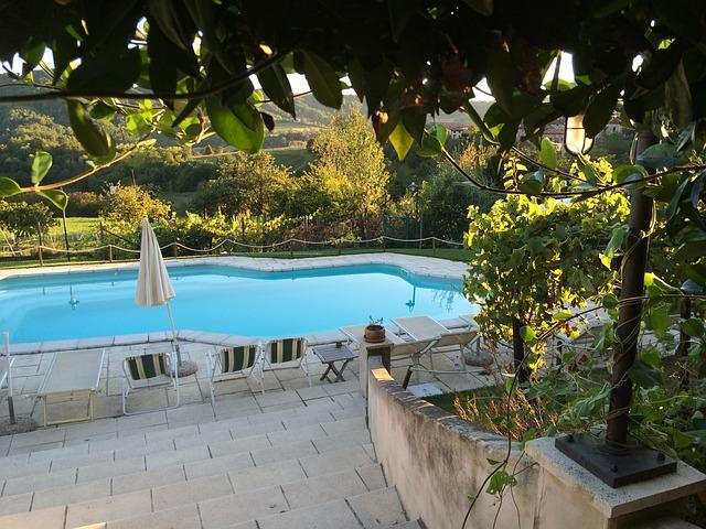 terasový bazén