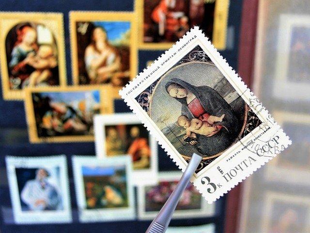 přidávání nové známky do sbírky